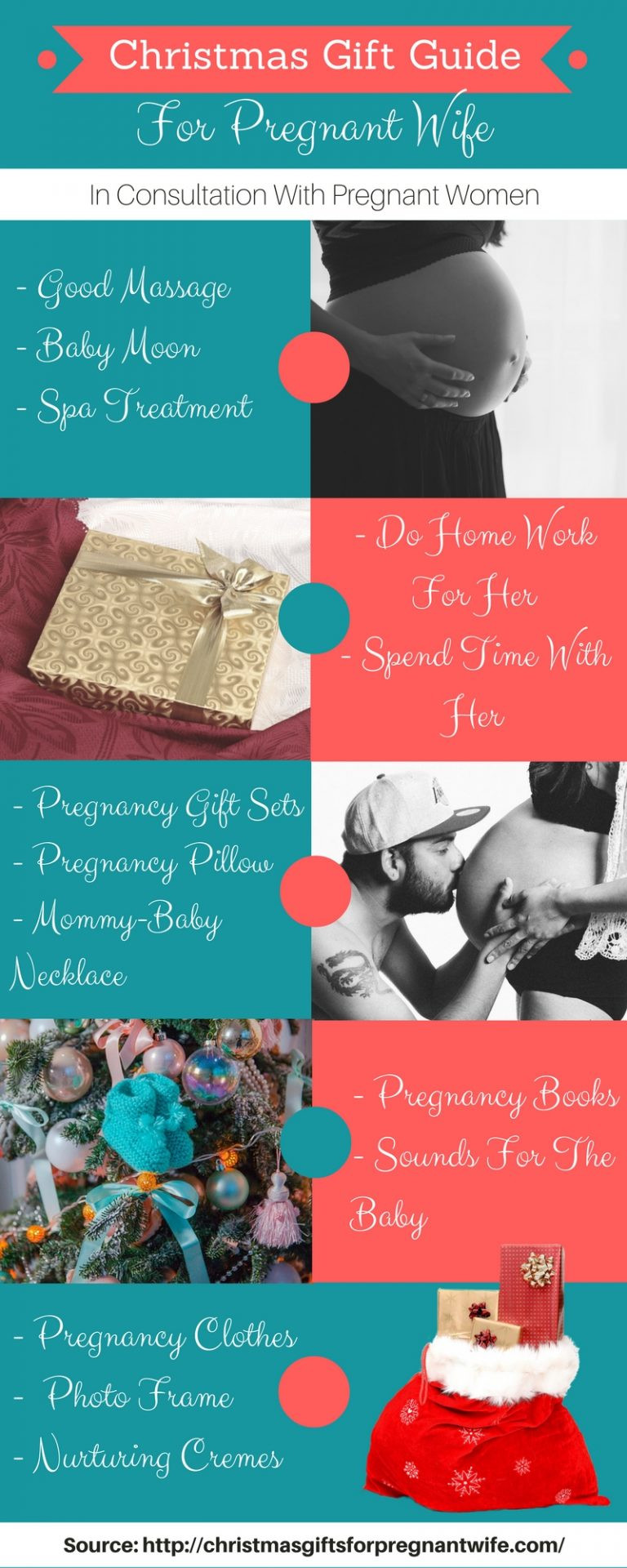Best Christmas Gift Ideas For Wife  Best Christmas Gifts For Pregnant Wife – Submit Infographics