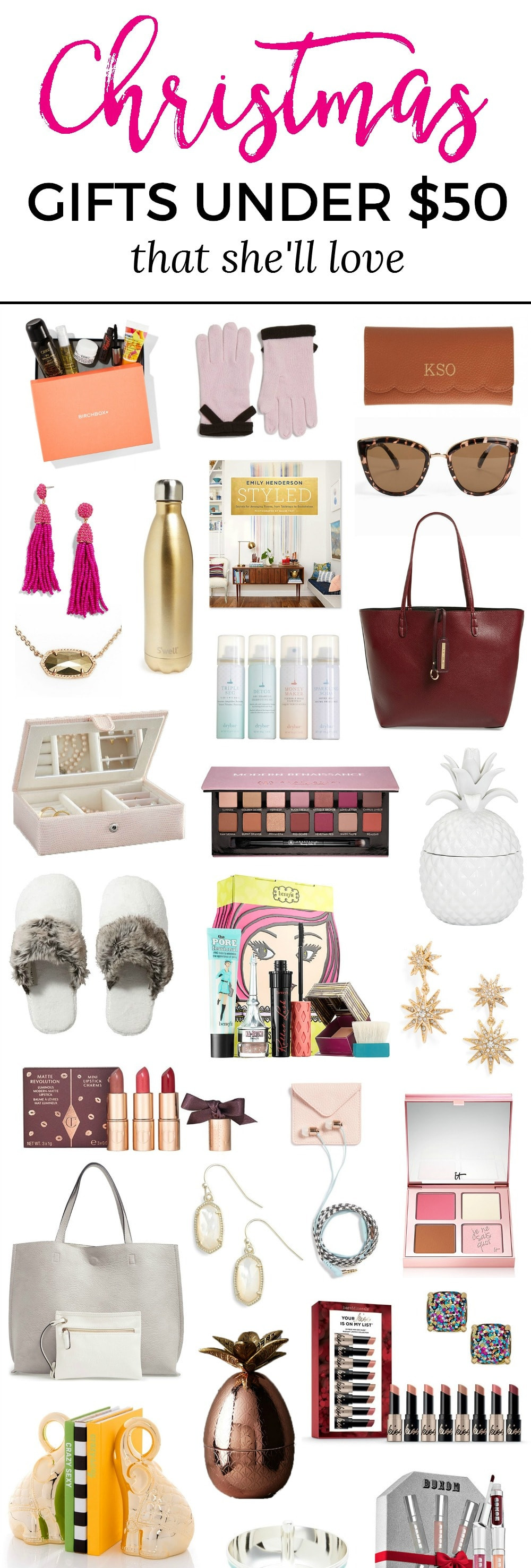 Best Christmas Gift Ideas  The Best Christmas Gift Ideas for Women under $50