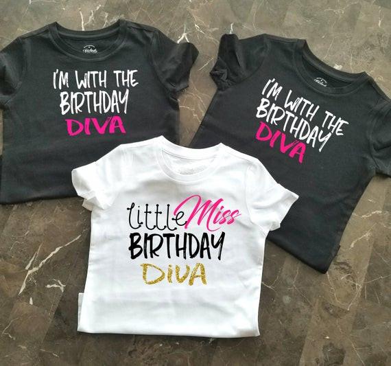 Birthday Party T Shirts Ideas  Birthday Party Shirts Girls Birthday Shirts Little Girls