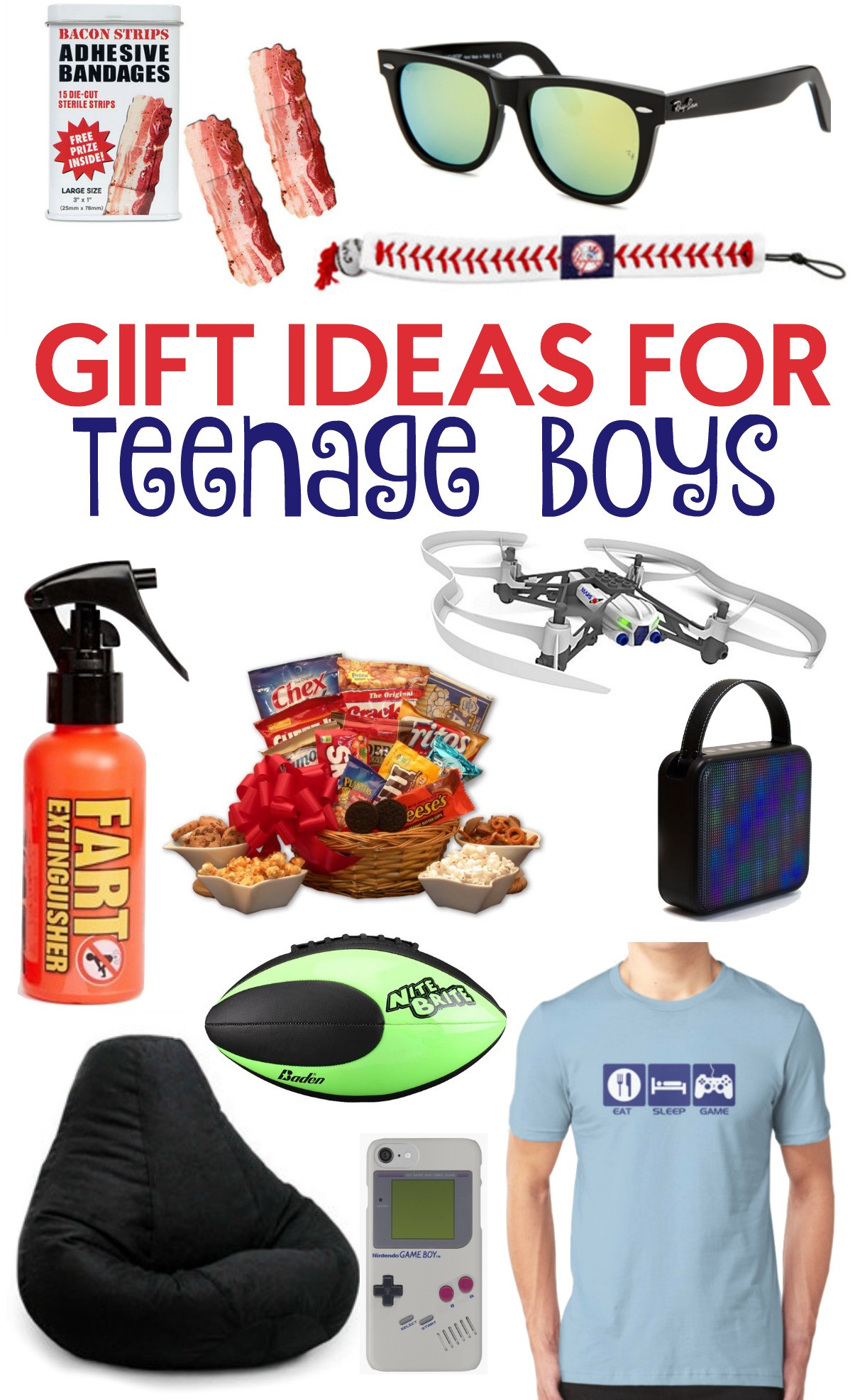 Boys Christmas Gift Ideas  The Perfect Gift Ideas For Teen Boys A Little Craft In