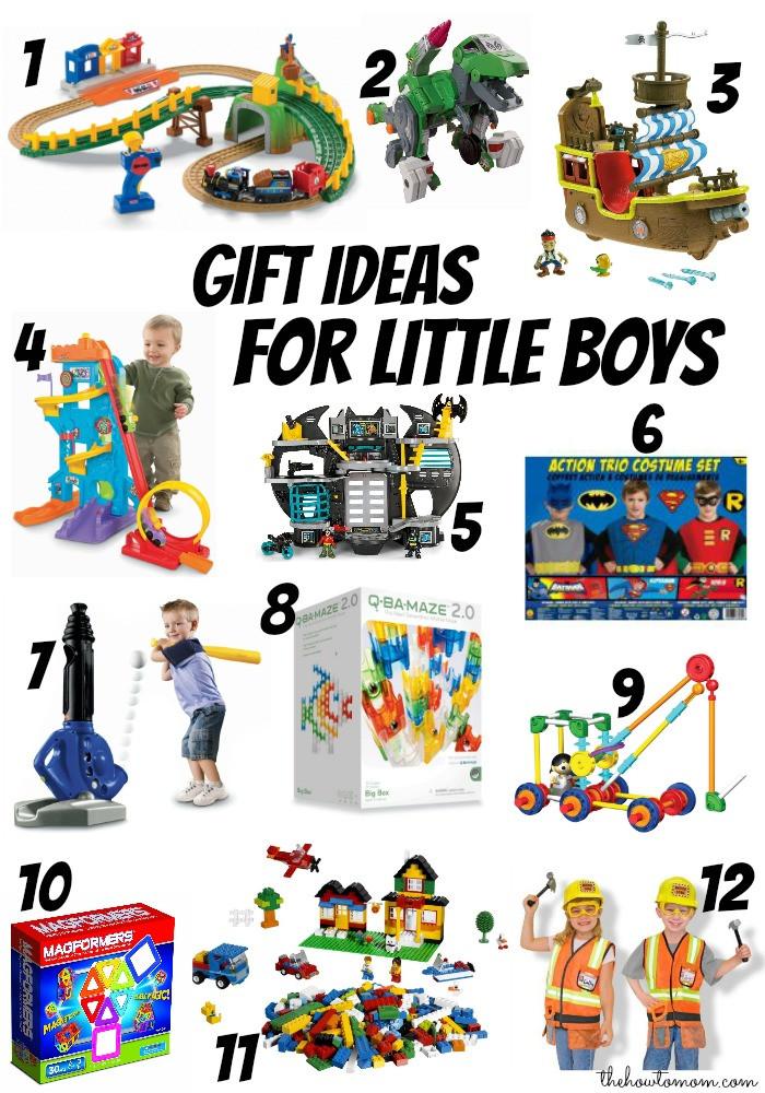 Boys Christmas Gift Ideas  Christmas t ideas for little boys ages 3 6 The How