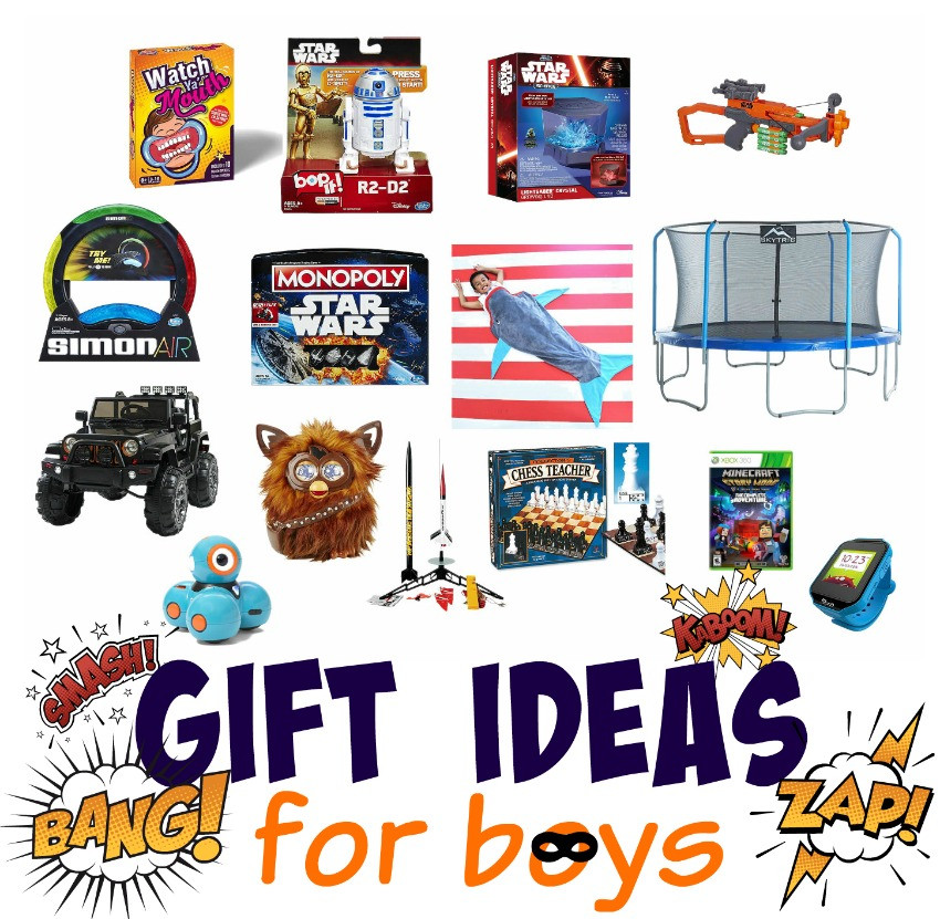 Boys Christmas Gift Ideas  Gift Ideas for Little Boys The Cards We Drew