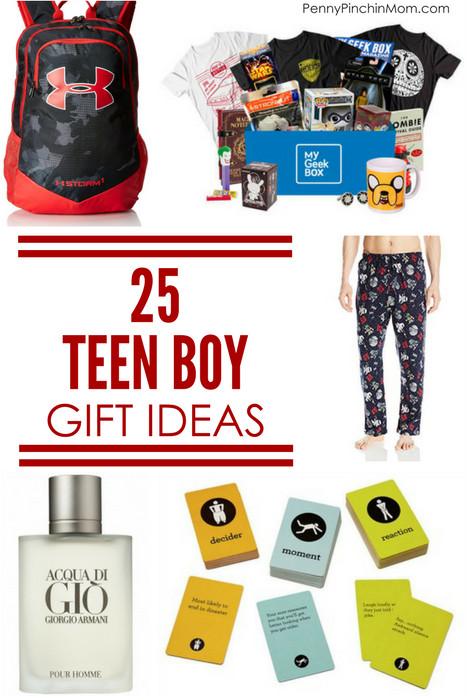 Boys Christmas Gift Ideas  25 Teen Boy Gift Ideas Perfect for Christmas or Birthday