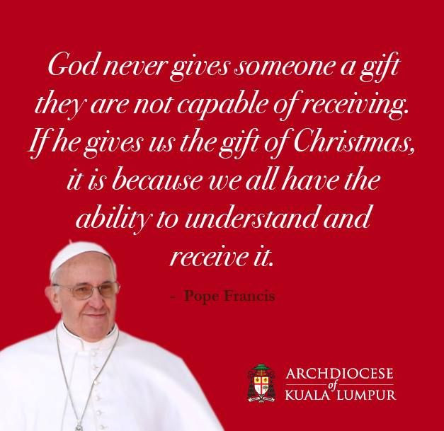Catholic Christmas Quotes  398 best images about Pope Francis on Pinterest