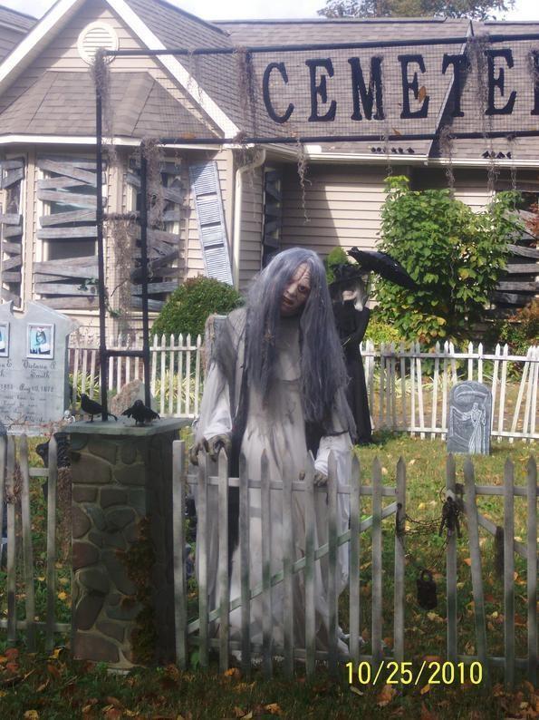 Cemetery Fence Halloween Prop  Halloween Ideas for MoCo Souls