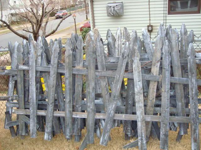 Cemetery Fence Halloween Prop  47 best Halloween Cemetery images on Pinterest