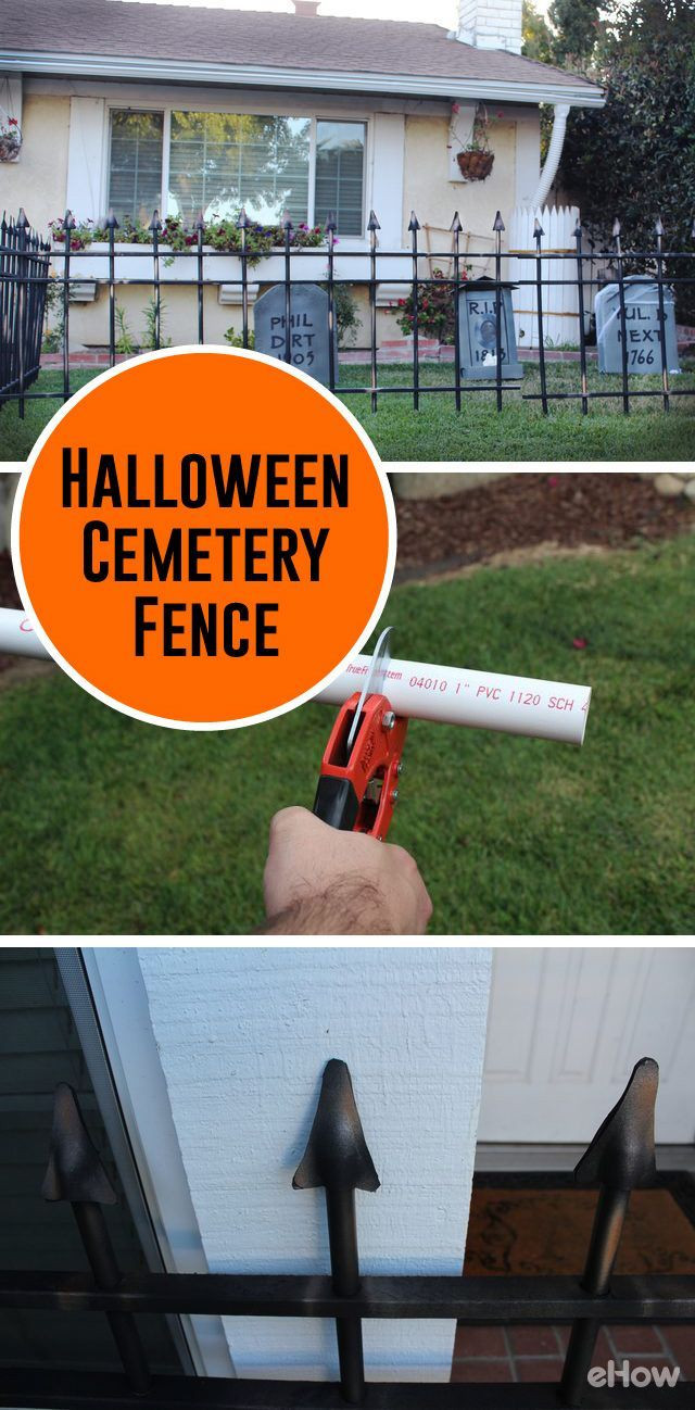 Cemetery Fence Halloween Prop  1941 best images about HALLOWEEN INSPIRATION on