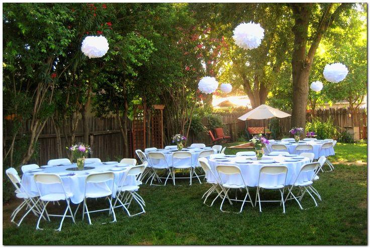 Cheap Backyard Party Ideas  303 best 2018 Graduation Party Decorations & Ideas images