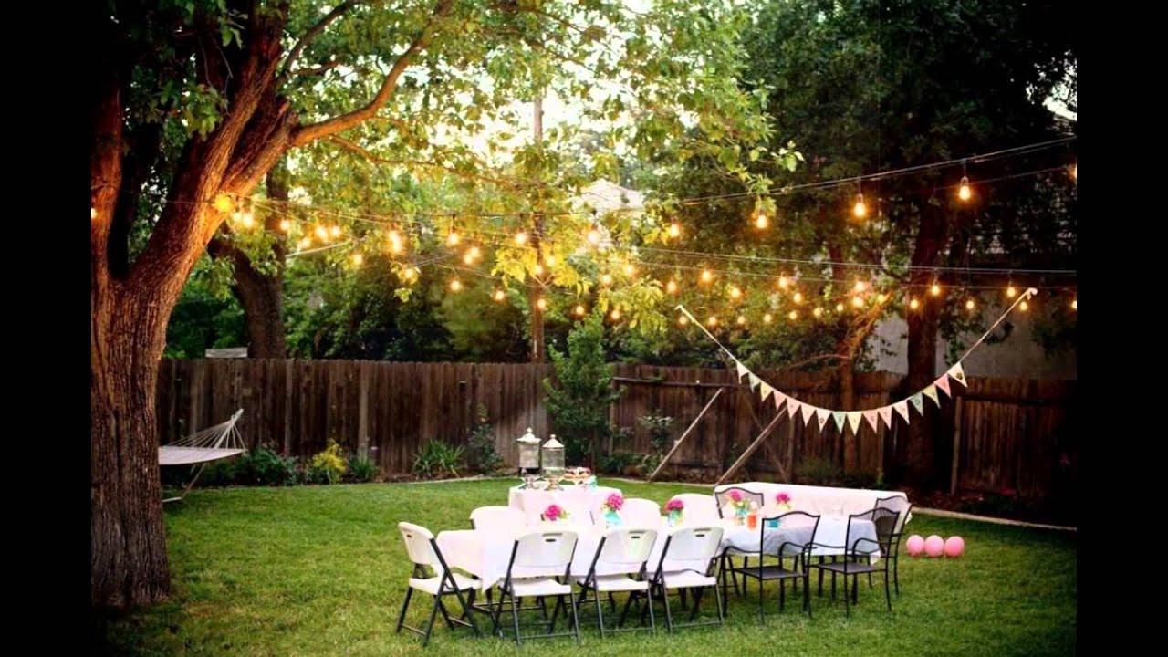 Cheap Backyard Party Ideas  Backyard Weddings on a Bud