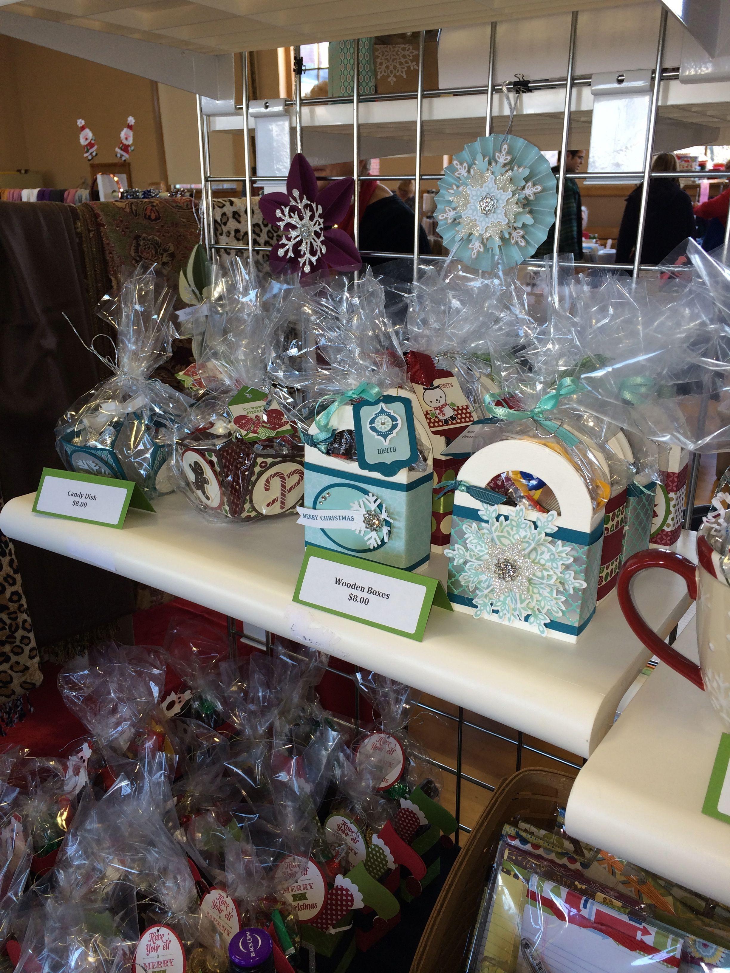 Christmas Craft Fair Ideas  stampin up ideas t bags etc