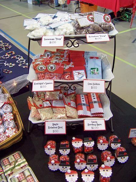 Christmas Craft Fair Ideas  Top 25 ideas about christmas fair displays on Pinterest