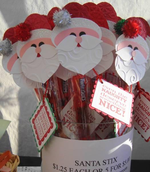 Christmas Craft Fair Ideas  Santa Stix Christmas Craft Fair 2011 by artful whimsies