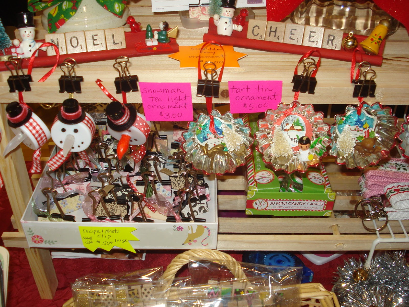 Christmas Craft Fair Ideas  gold country girls A Christmas Craft Fair