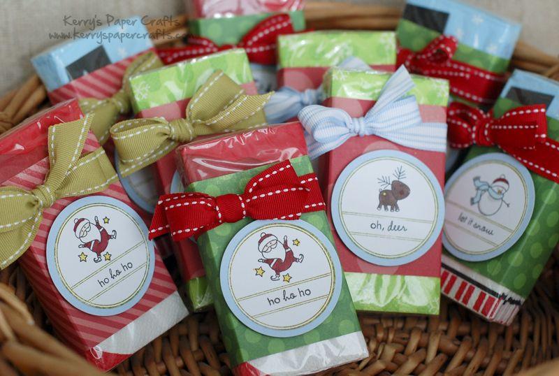 Christmas Craft Fair Ideas  Christmas Kleenex stocking stuffers So many ideas so