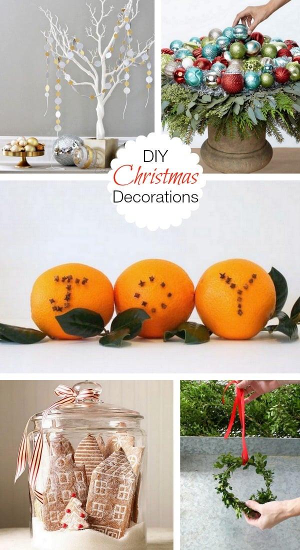 Christmas Decoration DIY Pinterest  Diy Christmas Decorations Pinterest