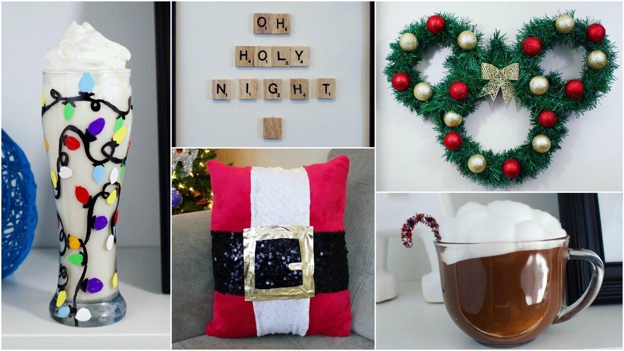 Christmas Decoration DIY Pinterest  CHEAP & EASY DIY CHRISTMAS DECOR IDEAS