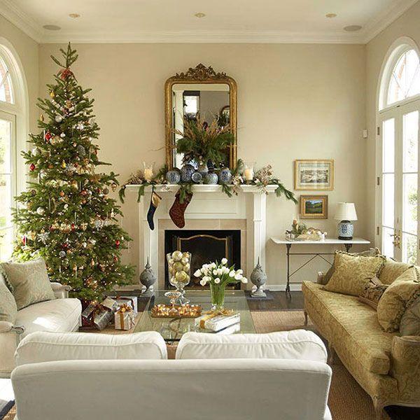 Christmas Decorations For Small Apartment  Modern Christmas Living Room Decor – DIY Your Home & Small