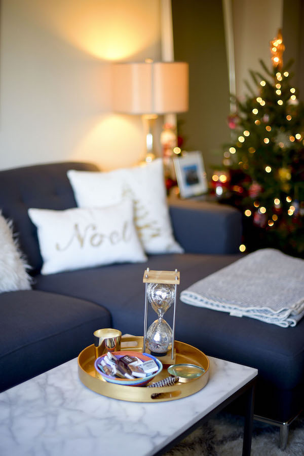 Christmas Decorations For Small Apartment  Decorating Our Apartment 2015 Holiday Decor