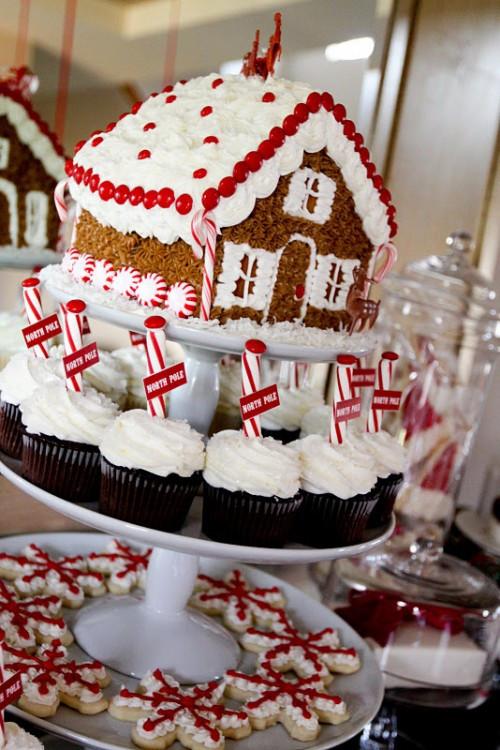 Christmas Dessert Ideas For Party  Christmas Gingerbread Dessert Table