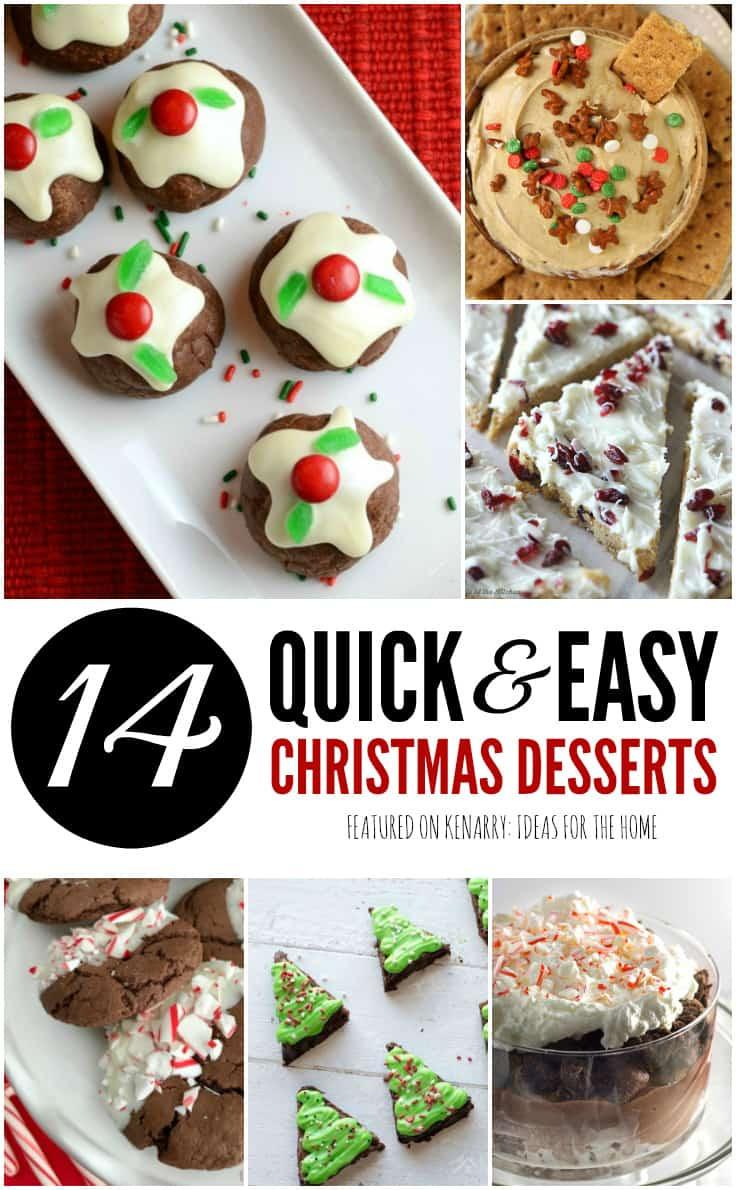 Christmas Dessert Ideas For Party  Easy Dessert Recipes 14 Christmas Potluck Ideas