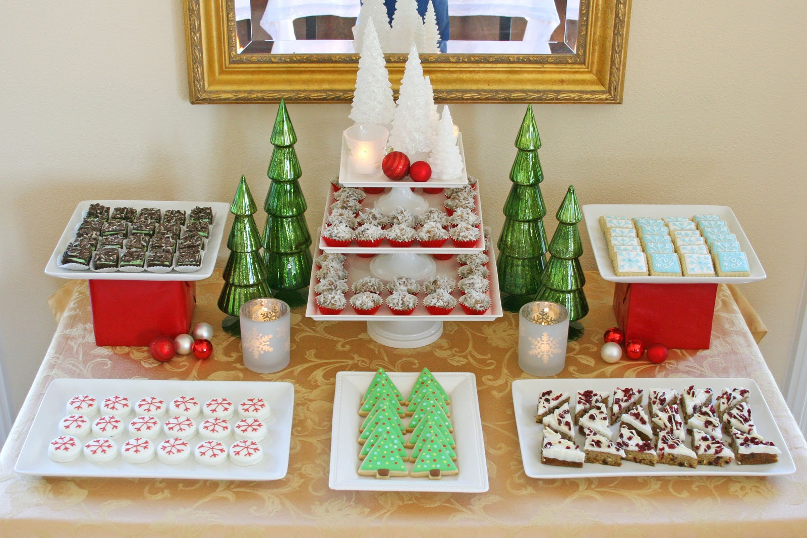 Christmas Dessert Ideas For Party  Classic Holiday Dessert Table Glorious Treats