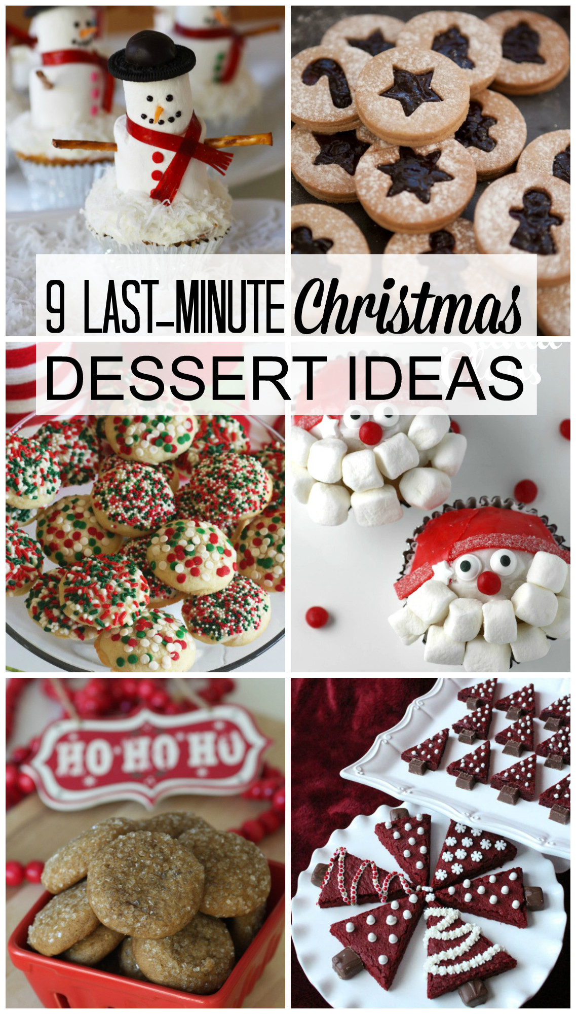 Christmas Dessert Ideas For Party  9 Last Minute Christmas Dessert Ideas