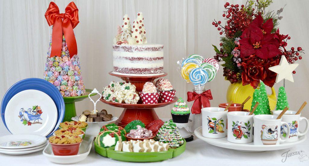Christmas Dessert Table  A Christmas Dessert Table – Fiesta Blog