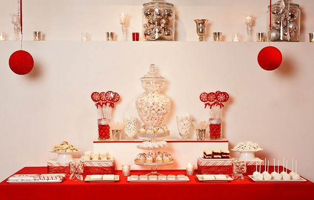 Christmas Dessert Table  Trap Door Christmas Dessert Party Want to e