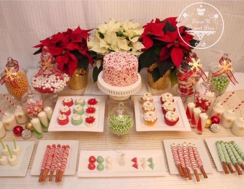 """Christmas Dessert Table  Christmas Christmas Holiday """"Christmas Dessert Table"""
