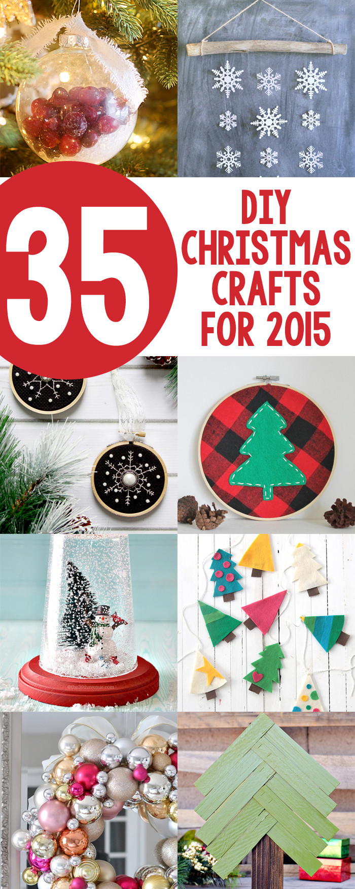 Christmas DIY Crafts  35 DIY Christmas Crafts for 2015 Yellow Bliss Road