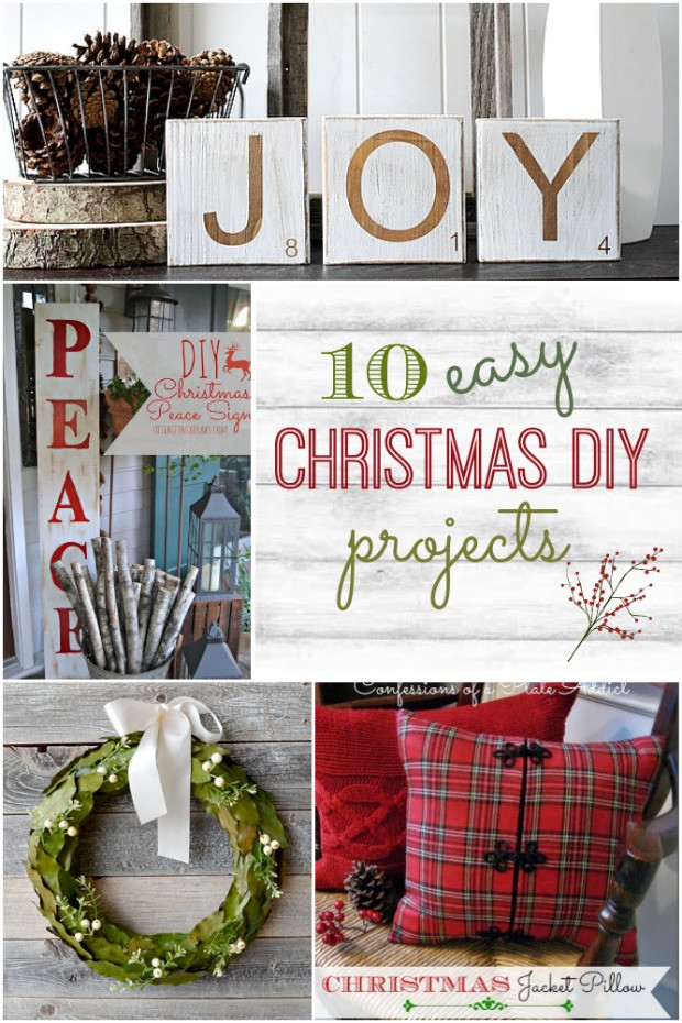 Christmas DIY Crafts  10 Easy DIY Christmas Projects Home Stories A to Z