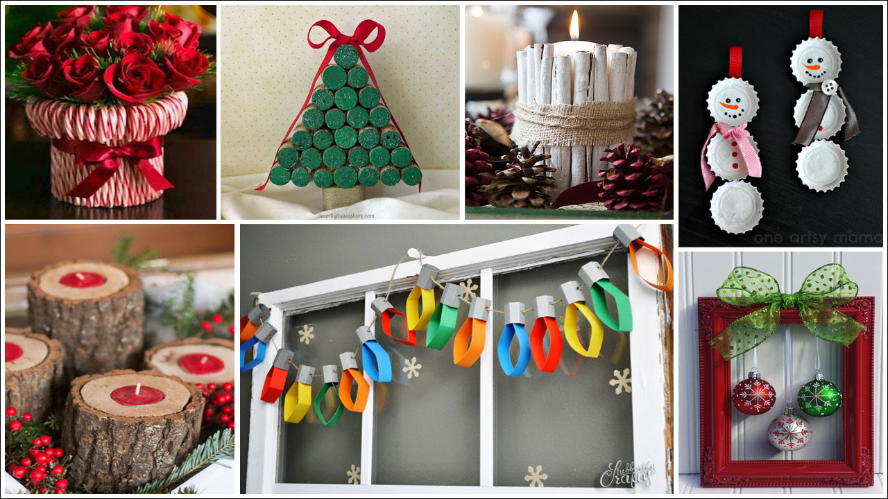 Christmas DIY Crafts  19 Simple DIY Christmas Crafts Frugal Living for Life