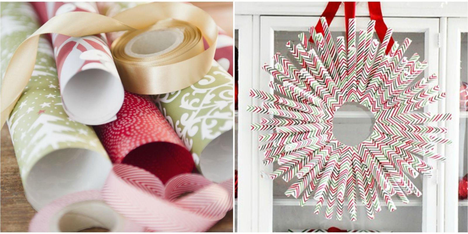 Christmas DIY Crafts  51 Trash to Treasure Christmas Crafts DIY Holiday