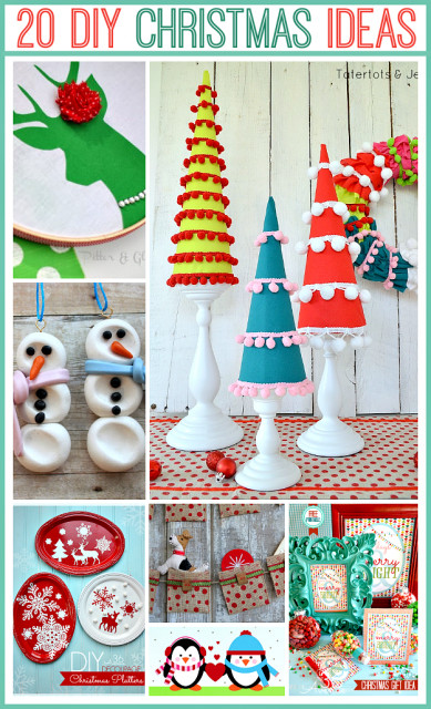 Christmas DIY Crafts  20 DIY Christmas Projects Adorable Ideas The 36th AVENUE