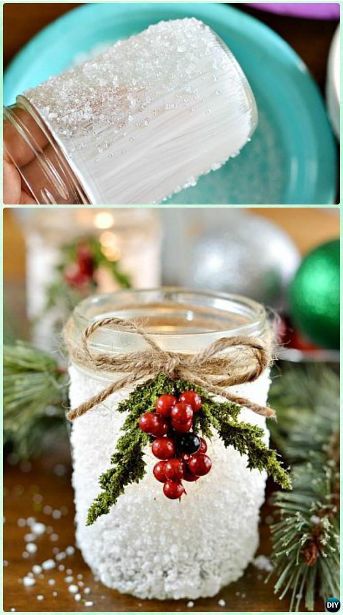 Christmas DIY Crafts  Best 25 Christmas mason jars ideas on Pinterest