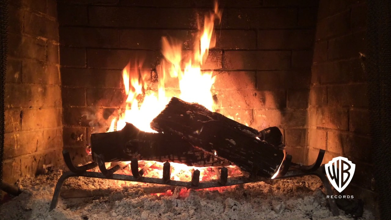 Christmas Fireplace Music  Classic Christmas & Holiday HD Yule Log Fireplace Feat