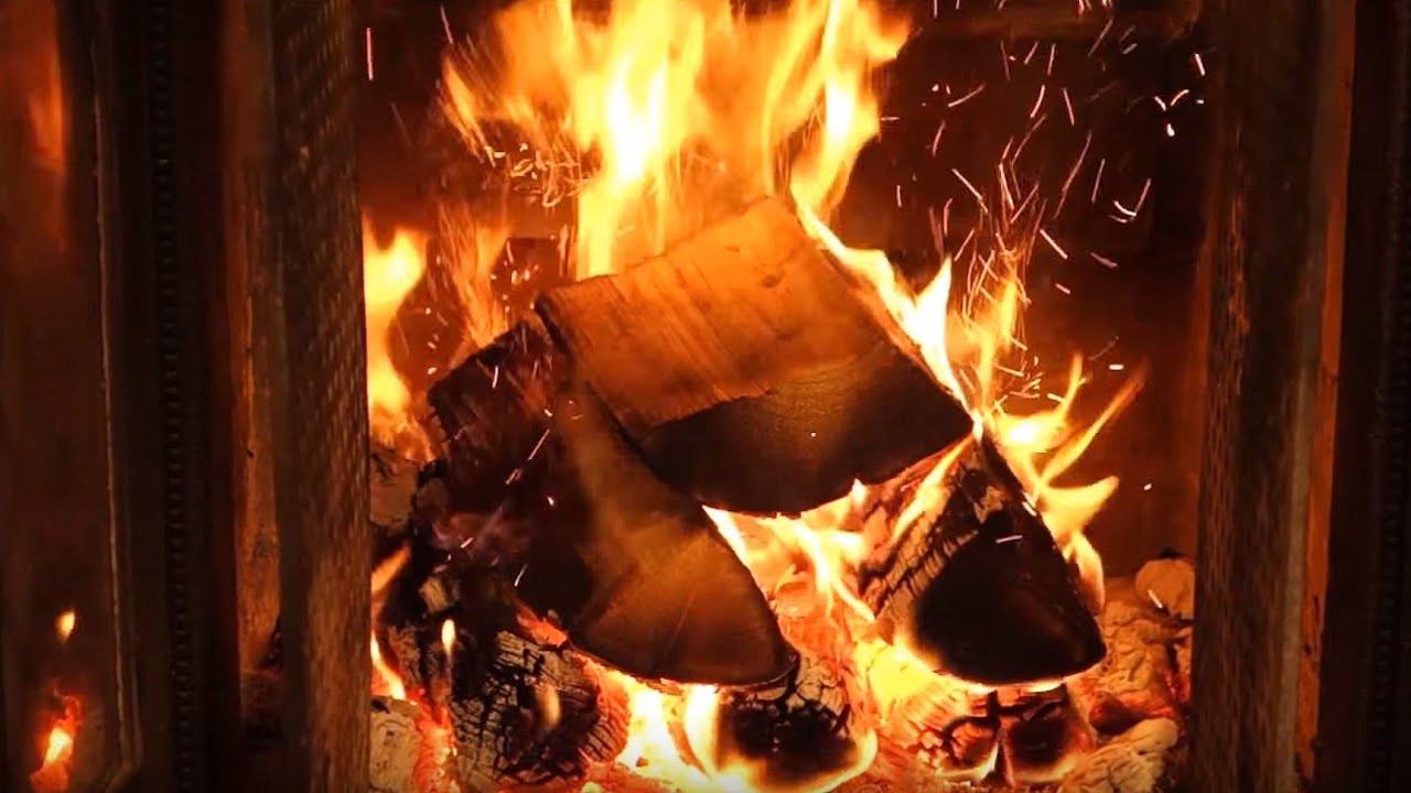 Christmas Fireplace Music  ficial Christmas Fireplace 🔥 2 HOURS Christmas Music