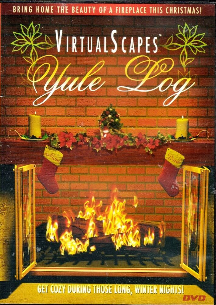 Christmas Fireplace Music  VirtualScapes YULE LOG CHRISTMAS HOLIDAY HOME FIREPLACE