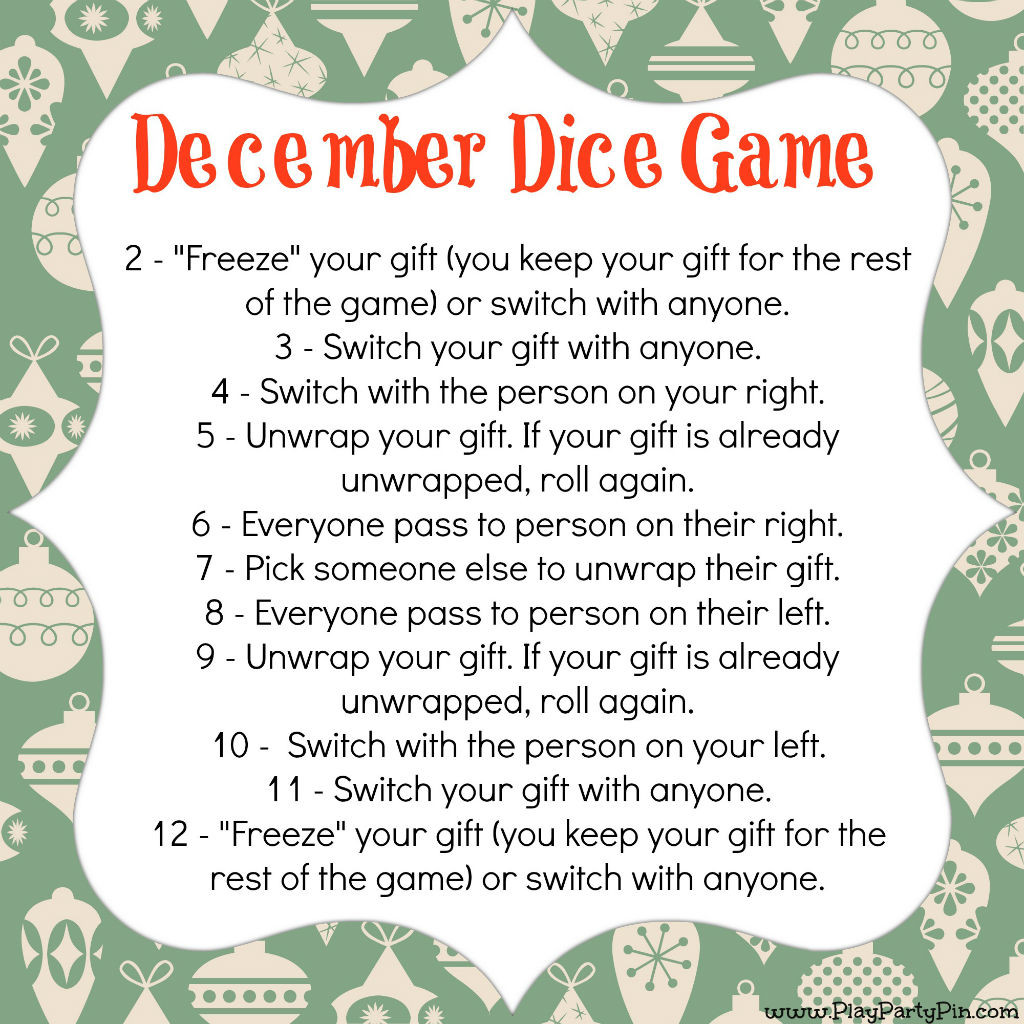 Christmas Gift Exchange Ideas  Fabulous Christmas Games For Kids Starsricha