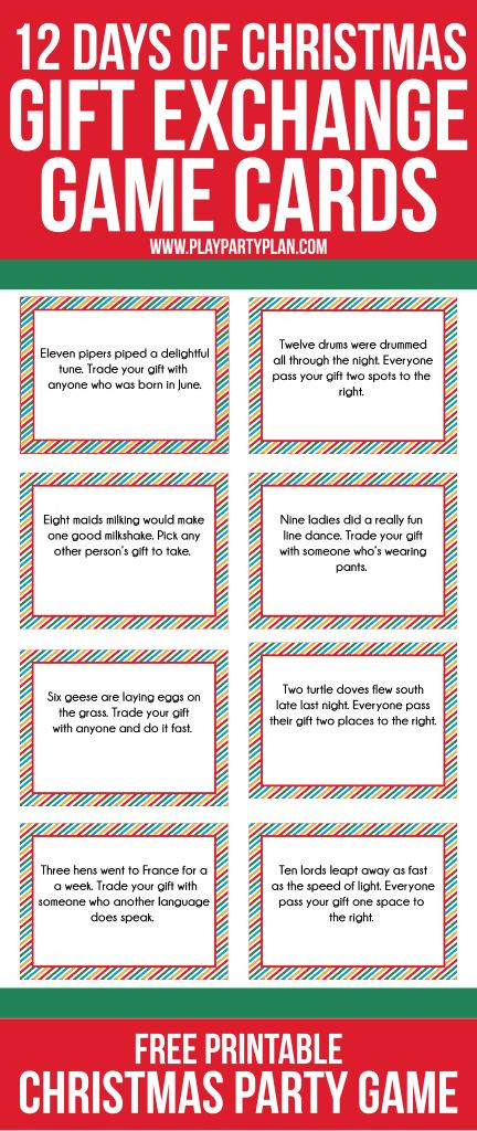 Christmas Gift Exchange Ideas  Best 25 Gift exchange games ideas on Pinterest