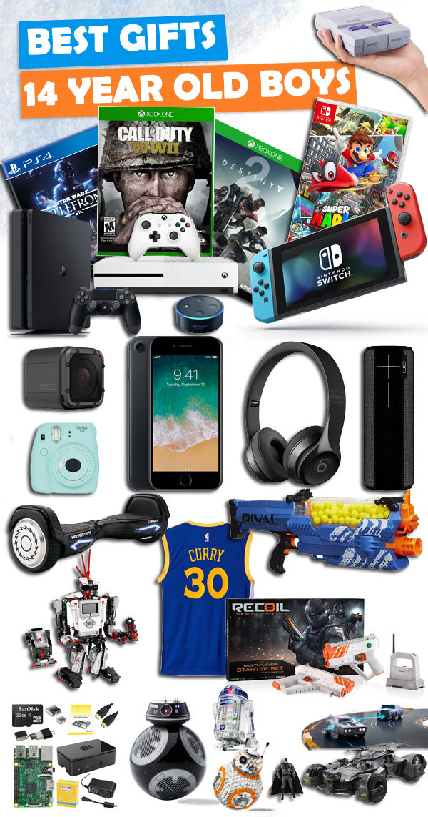 Christmas Gift Ideas 15 Year Old Boy  Gifts For 14 Year Old Boys