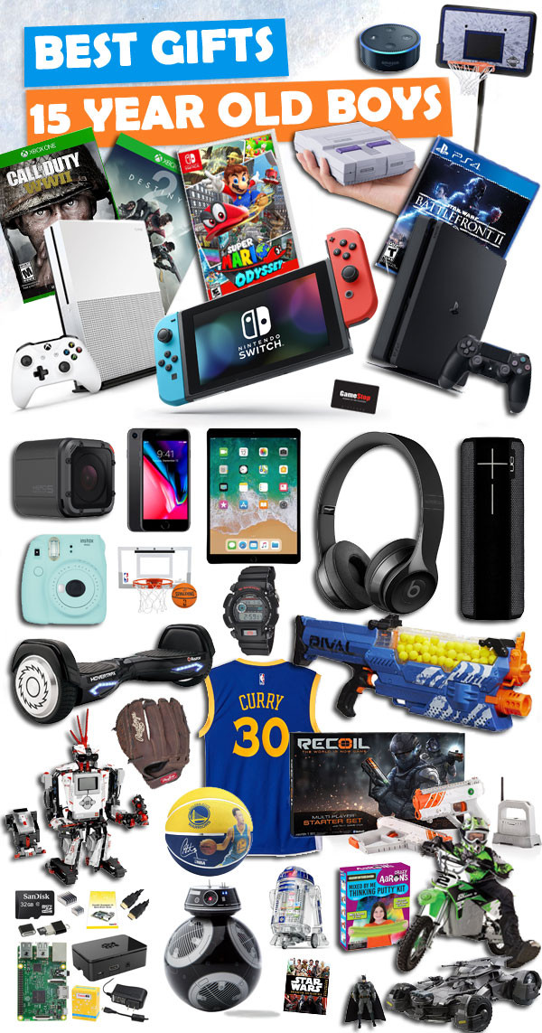 Christmas Gift Ideas 15 Year Old Boy  Gifts for 15 Year Old Boys