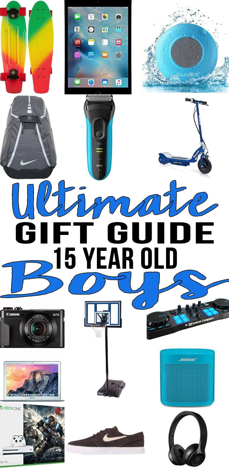 Christmas Gift Ideas 15 Year Old Boy  Best Gifts 15 Year Old Boys Actually Want