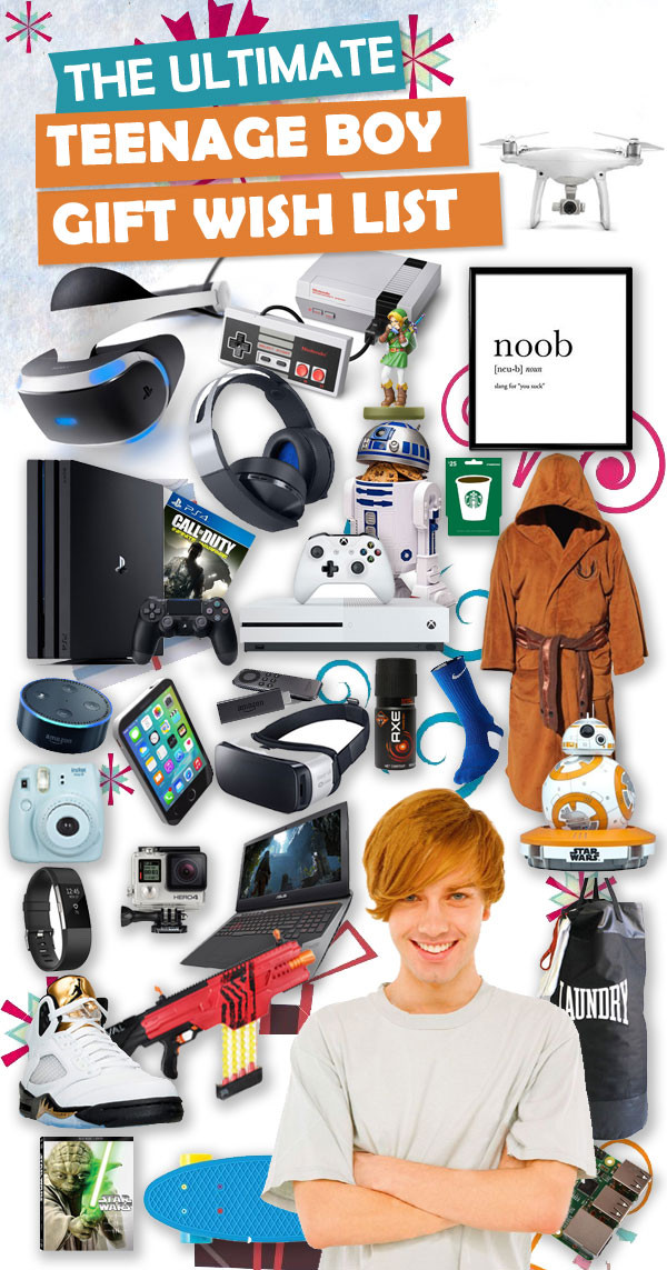 Christmas Gift Ideas 15 Year Old Boy  Best Christmas Gifts For Teen Boys