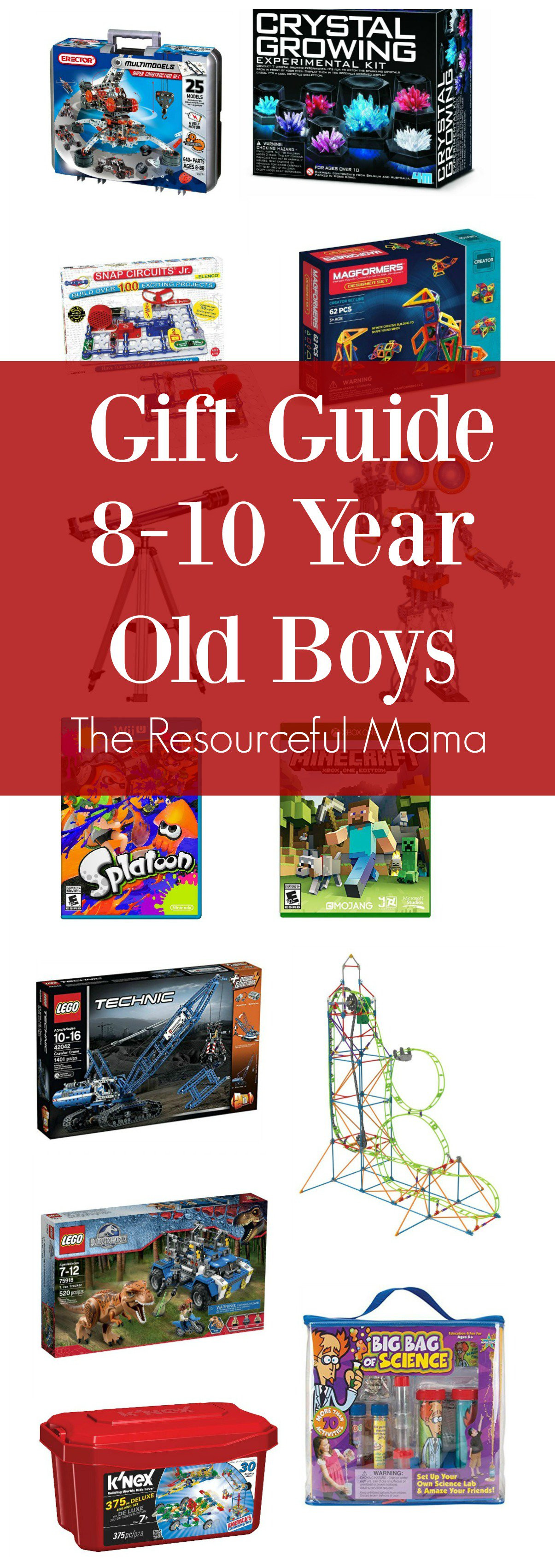 Christmas Gift Ideas For 10 Year Olds Boy  Gift Ideas 8 10 Year Old Boys