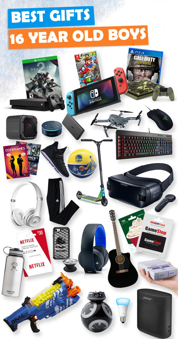 Christmas Gift Ideas For 10 Year Olds Boy  Gifts for 16 Year Old Boys