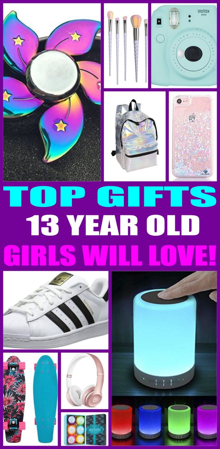 Christmas Gift Ideas For 13 Year Old Girl  Best Gifts For 13 Year Old Girls