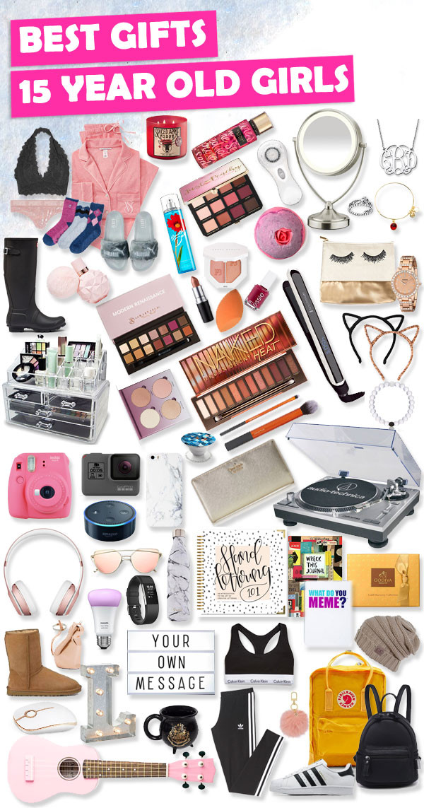 Christmas Gift Ideas For 13 Year Old Girl  Gifts for 15 Year Old Girls