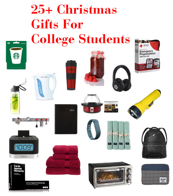 Christmas Gift Ideas For College Student  Favorite Christmas Gifts For College Students ZagLeft