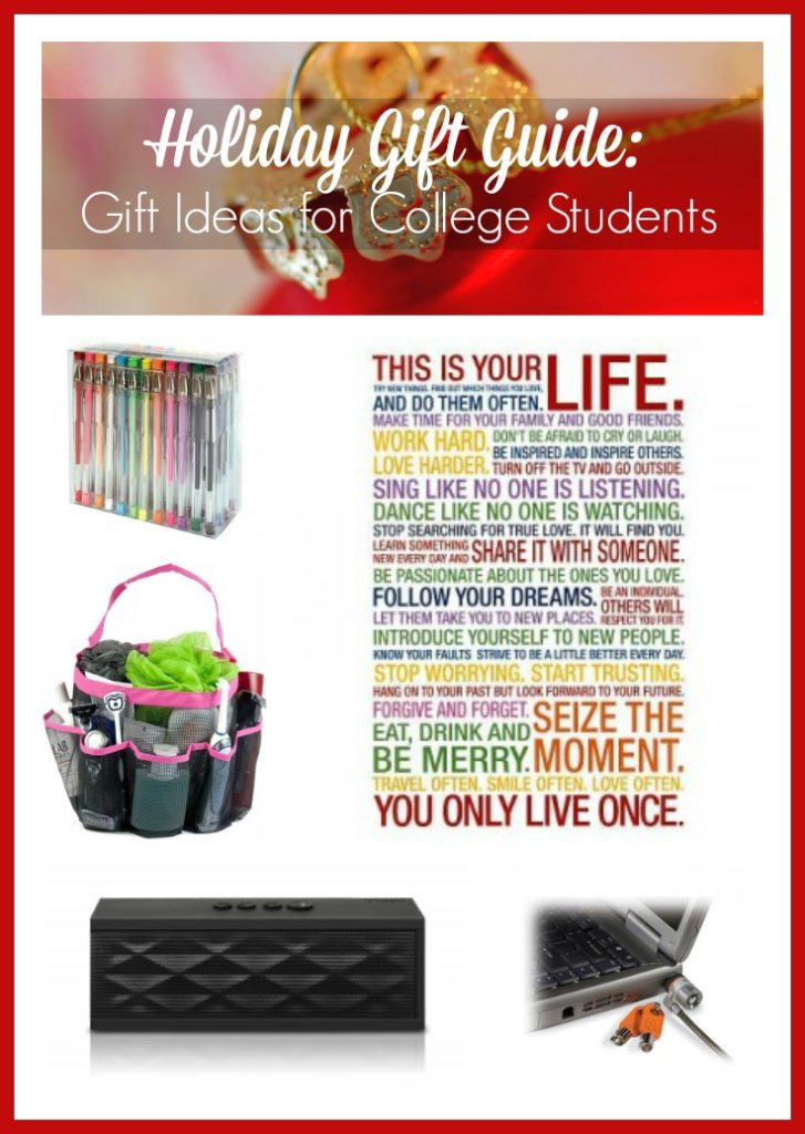 Christmas Gift Ideas For College Student  Holiday Gift Guide Gift Ideas for College Students